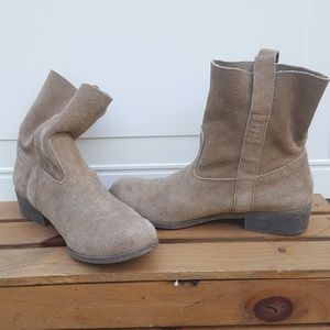 Suede bootie from American Eagle